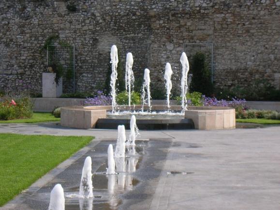 création fontaine